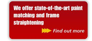 We offer state-of-the-art paint matching and frame straightening