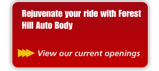 Rejuvenate your ride with Forest Hill Auto Body